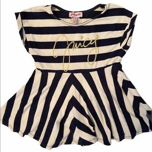 ✨3 for $30✨Juicy Couture 4T Girls Striped Dress
